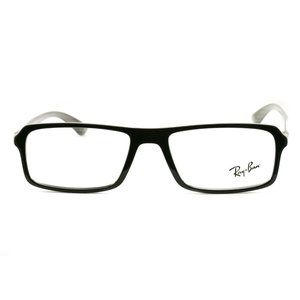 Ray-Ban Accessories - Ray-Ban Rectangular Shape Black/Grey Frame